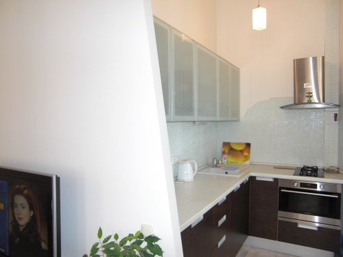 Rent studio apartment in Kiev at Reitarska 25 near Radisson Blu hotel