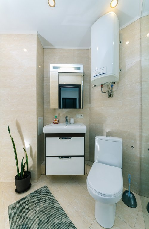 Rent luxury 1 bedroom apartment in Kiev at Baseina 11 with shower
