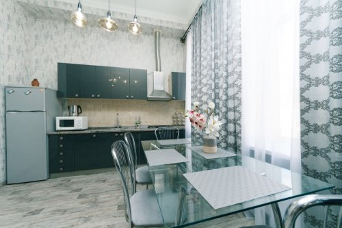 Rent flat in Kiev with design Baseina 12
