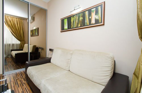 Rent lux 1 bedroom apartment in Kiev at Baseina 17 with design