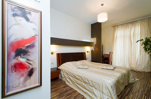 Rent lux 1 bedroom apartment in Kiev at Baseina 17 with view