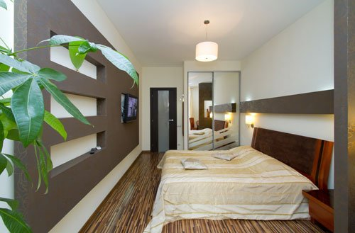 Rent lux 1 bedroom apartment in Kiev at Baseina 17 near Arena City
