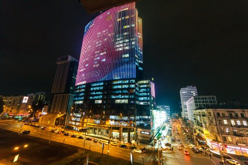 Rent Ferrari apartment in Kiev with view opposite Gulliver mall