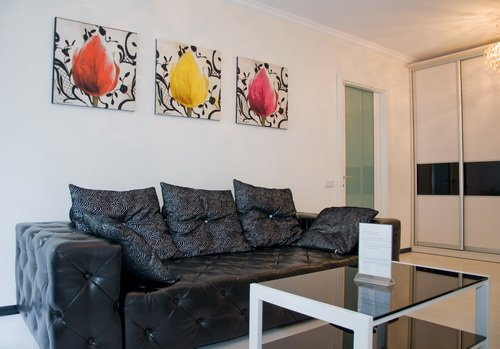 Rent lux 1 bedroom apartment in Kiev at Baseina 19