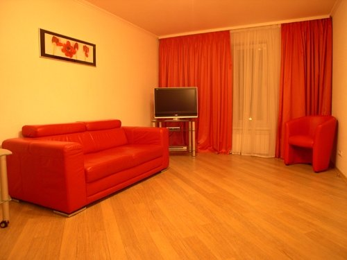 Rent lux 1 bedroom apartment in Kiev at Baseina 19 Arena City