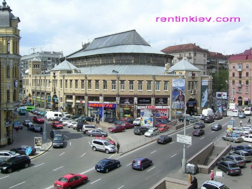 Rent nice 1 room studio apartment in Kiev at Baseina 3 Mandarin Plaza