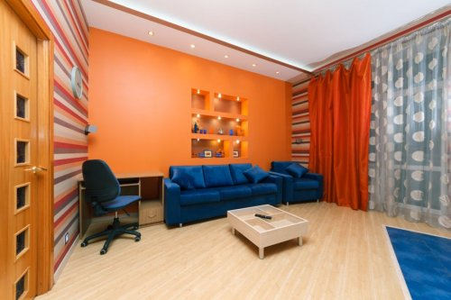 Rent luxury 1 bedroom apartment in Kiev at Baseina 3 Parus
