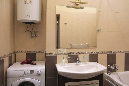 Rent VIP 1 bedroom apartment in Kiev at Baseina 5a Jacuzzi