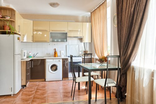 Rent lux 1 bedroom apartment in Kiev at Baseina 11 Mandarin Plaza