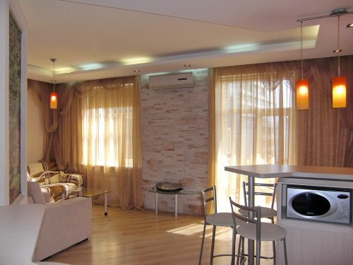Rent 1 bedroom vip apartment in Kiev at Baseina 17 Gulliver