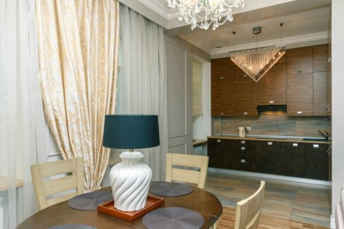 Rent 2 bedroom lux apartment in Kiev on Bessarabs'ka square 5a