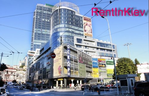 Rent 1 room studio VIP apartment in Kiev at Hospitalna 2 near Gulliver mall