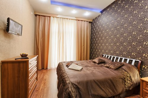 Rent luxury 1 bedroom apartment in Kiev at 13 Kreshchatik St. Maidan