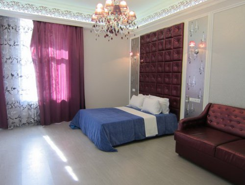 Rent luxury 1 room studio apartment in Kiev at Khreschatyk 15 Passage