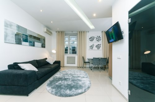 Rent lux 1 bedroom apartment in Kiev at Lesi 6 stylish design