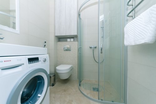 Rent nice 2 bedroom apartment in Kiev on Maidan with shower cabin