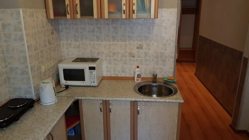 Rent 1 room studio apartment in Kiev at Ivana Franka 27 with a seperate kitchen